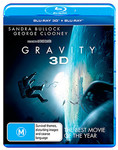 Gravity Blu Ray + 3D Blu Ray $13 at Target instore