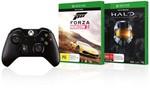 BIG W - Xbox One Wireless Controller + 2 Games - $74.00