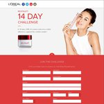 Free L'Oreal Revitalift 14-Day Trial Kit