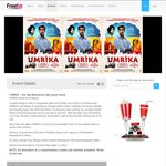 Free Tix to UMRIKA - The New Bollywood Feel-Good Movie (SYD)