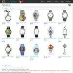 Customisable Watches from $7.99 USD (~$11.20 AUD) Shipped from Cowcow