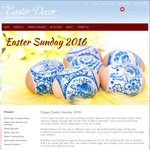 10% off on Easter Egg Dyes and Easter Decoration in Russian Style at EasterDecor.com.au