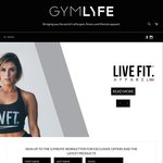 15% off All Gym, Fitness & Lifestyle Brands @ Gym Life