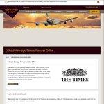 Obtain Elite Etihad Status (Silver / Gold) after Return Flight (departing UK)