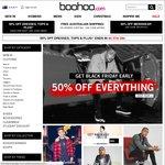 50% of Menswear @ Boohoo (Excludes Sale)