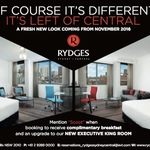 Free Upgrade to Executive King Room and Complimentary Breakfast at Rydges Sydney Central