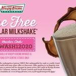 [WA] Free Regular Milkshake (Worth $4.50) @ Krispy Kreme