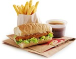 $5 Rippa Box - 1/2 Rippa Roll, Small Chips, Regular Gravy @ Red Rooster
