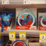 BPA Free Microwave & Dishwasher Safe Plates (Finding Dory / Spiderman) on Clearance $2 @Kmart