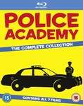 Police Academy The Complete Collection Blu-Ray (7 Movies) £10.98 (AUD $17.85) Delivered @ Zavvi