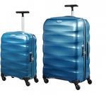 Samsonite Engenero 55cm+75cm in Blue Luggage Set 60% off Retail $399 Free Delivery @ Luggage Gear