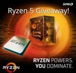 Win an AMD Ryzen 5 1600 Processor Worth $319 from AVADirect