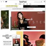 40% off Everything (Excluding Sale) + Free Shipping on Orders over $60 at Boohoo