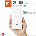 Xiaomi 20000mAh Dual USB Power Bank 2 Quick Charge 3.0 for $41.46 Delivered @ Shopping Square
