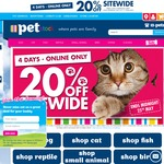 20% off Online @ PETstock