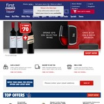 Free Shipping from First Choice Liquor (Min Spend $20)