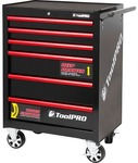"Toolpro Tool Cabinet - 6 Drawer, Roller Cabinet, 27"" - $433.80 @ Supercheap Auto"