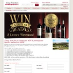 Win 1 of 3 Premium Wine Collection Prize Packs Worth $985 from Australian Wine Selectors