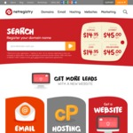Netregistry - .com $1 New Registrations Only