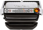 TEFAL Opti Grill Plus: Silver: GC712 with BONUS Snack Tray $219 @ Myer
