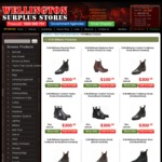 Wellington Street Surplus: RM Williams Boots $300 Plus $15 Shipping. Dr Marten Boots, Sandles & Shoes up to 60% off