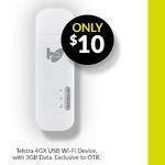 Telstra 4GX Wi-Fi + 3GB Data $10 at On The Run (SA Only)