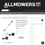 EGO 56V Lithium Battery 38cm Line Trimmer $80 off Skin ($169) or Kit ($339) Free Shipping @ All Mowers