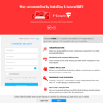 FREE F-Secure SAFE Internet Security 1 Year 5 Devices (Normally $120)