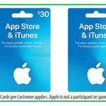 15% off iTunes Gift Cards $30/ $50/ $100 Now $25.50/ $42.50/ $85 @ Woolworths/Officeworks