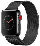 Apple Watch Series 3 38mm (GPS + Cellular) Black Stainless Steel Case w/ Space Black Milanese Loop for $891.65 @ Myer eBay