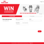 Win 1 of 90 Royal Canin Dog Food Packs [Open to Owners of Poodles, Dachshunds or Chihuahuas]