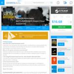 PC - PlayerUnknown's Battlegrounds (Steam Cloud Activation) - USD $16.18 / AUD $20.63 @ Gamesdeal