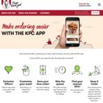 $2 Sliders at KFC via App