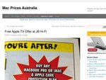 Free Apple TV Offer at JB Hi-Fi with Mac Purchase & Apple Care