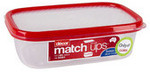 1/2 Price Decor Food Storage Containers (e.g. 1L Match-Ups Basics: $2.75, Was $5.50) at Coles