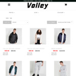 50-60% off  Winter Sale Jackets $49 @ Volley