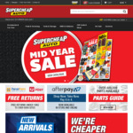 20% off Sitewide @ Supercheap Auto (Online Only - Monday)