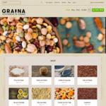 25% off Melbourne Bulk Food Store [GRAINA] - Order Online ONLY
