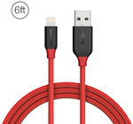 BlitzWolf BW-MF8 Lightning Braided Cable, 2.4a & 1.8m Long, US $6.59 (~AU $9.17) @ Banggood