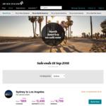 Melbourne to Los Angeles $2483 Premium Economy Return via Air New Zealand
