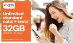Kogan Mobile 32GB 30 Day Prepaid Voucher $3.90 @ Groupon (New Customers)