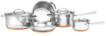 Essteele Per Vita Stainless Steel Copper 5 Piece Cookware Set - $399 (Was $799.95) Delivered @ Myer