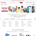 Free Shipping Sitewide with No Minimum Spend @ FragranceX