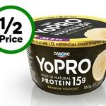 [NSW, ACT, QLD] ½ Price Danone Yopro Yoghurt Varieties 160gm $1.12 @ Woolworths