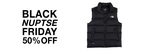 The North Face - Black Nuptse Vest - Mens and Womens - $149 Delivered