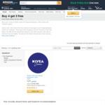 NIVEA Crème All Purpose Moisturiser, 4x 150ml $7.99 + Delivery (Free with Prime/ $49 Spend) @ Amazon AU