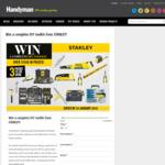 Win 1 of 3 Stanley Black & Decker Tool Packs Worth $505.05 from Handyman