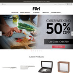 50% off Sitewide @ FURI Knives