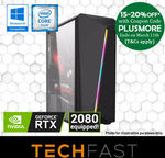 Ryzen 3 2300X GTX 1060 6GB: $559.20 / i5 9400F RTX 2080: $1679.20 / i7 8700 RTX 2080TI: $2598.40 Delivered @ TechFast eBay