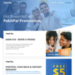 Get $10 Cashback on Your First Purchase (Normally $5) from PokitPal